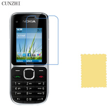 cunzhi 5pcs High Clear LCD Screen Protector For Nokia C2-01 Protection Ultra Slim Film(China)