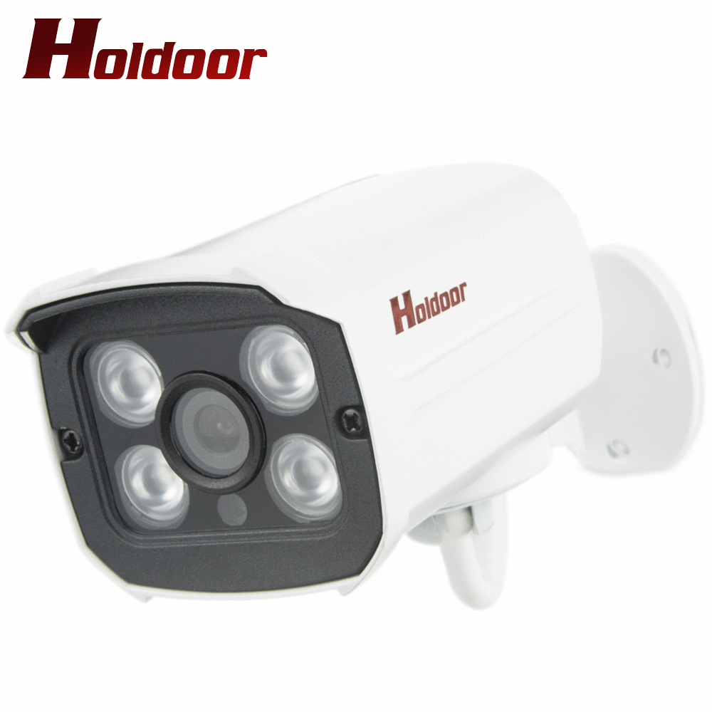 Holdoor 1080P Full HD H.265 IP Camera White Network CCTV Wired IPC Waterproof IP66 Zone Motion Alart Night Vision Outdoor Onvif<br>