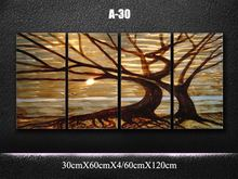 Original  Classic Metal Art Abstract  Wall Painting Brown Tree/ vitality  Sculpture Indoor Outdoor Decor