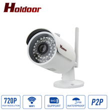 Buy IP66 Waterproof Outdoor Bullet IP Camera Wifi 720P HD P2P Video Surveillance Infrared Night Vision Wireless Security Camera for $37.26 in AliExpress store
