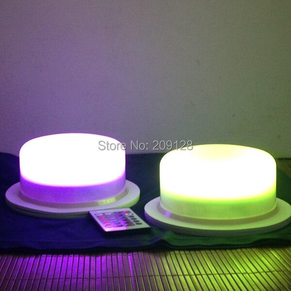 175mm led rgb under table lighting for weddings<br>