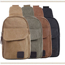 NEW Designer Casual Style Men's Canvas Military Messenger Shoulder Crossbody Travel Bags Fanny Small Bags