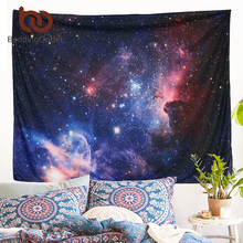 BeddingOutlet Galaxy Tapestry Scenery Stars in the Universe Decorative 3D Tapestry Wall Hanging Printed Dorm Tapestry(China)