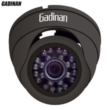 "GADINAN Security CCTV Dome 2.0M 1/2.9"" IMX323 24 Leds1080P 2.0mp HD 1080P h.264 IP Camera ONVIF 25fps Indoor Black/White Plastic"