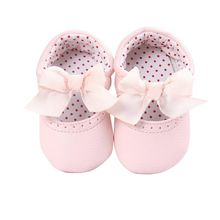 Newborn Baby Girl Moccasin Babies Shoes Soft Bottom PU Leather Toddler Infant First Walkers Boots 0-18M