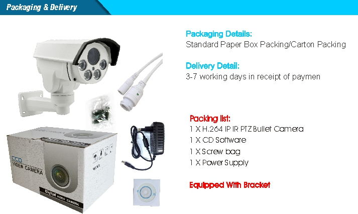 low cost PTZ Camera_