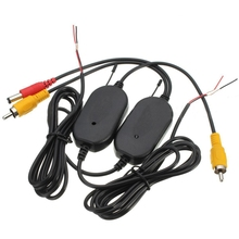 2.4G Wireless Video Transmitter & Receiver for Car Backup Camera Monitor S16K