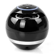 MoreBlue Mini Wireless Ball Bluetooth Speaker Stereo Bass Loudspeaker Portable Sound Box With Mic Support TF Card FM Radio(China)