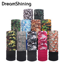 Winter Autumn Fleece Bicycle Multi Functional Bandana Headband Seamless Tubular Magic Bandana Tube Ring Scarf Sport(China)