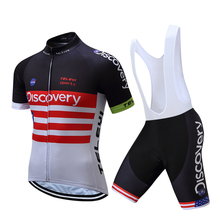 2017 Team Sky Cycling Jerseys Bike Maillot Ciclismo Bycicle Clothing Quick Dry Men Summer clothes wear set Ropa De Ciclismo(China)