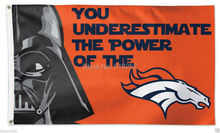 Denver Broncos Star Wars Flag 3x5 FT 150X90CM NFL Banner 100D Polyester Custom flag grommets 6038,free shipping(China)