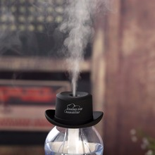 Portable Mini Air humidifier USB cowboy hat aromatherapy spray machine Household water bottle cap humidifier