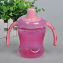 260ml Baby Feeding Bottles Kids Soft Mouth Duckbill Sippy Bottle Infant Training Cups