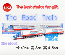 SIKU/Die Cast Metal Models/The simulation toys:Road Train toy/for children's gifts for collections/ Removable toy