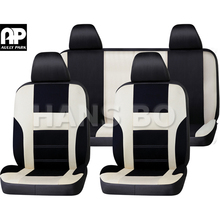 New Hot Sale Polyester Fabric Universal Car Seat Cover Fit Most Cars with Tire Track Detail Car Styling Car Seat Protector