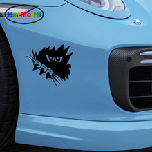 HotMeiNi Horror Dark Eyes Gaze Sharp Claws Funny Car Sticker for Camper Van Door Laptop Kayak Waterproof Vinyl Decal 10 Colors(China)
