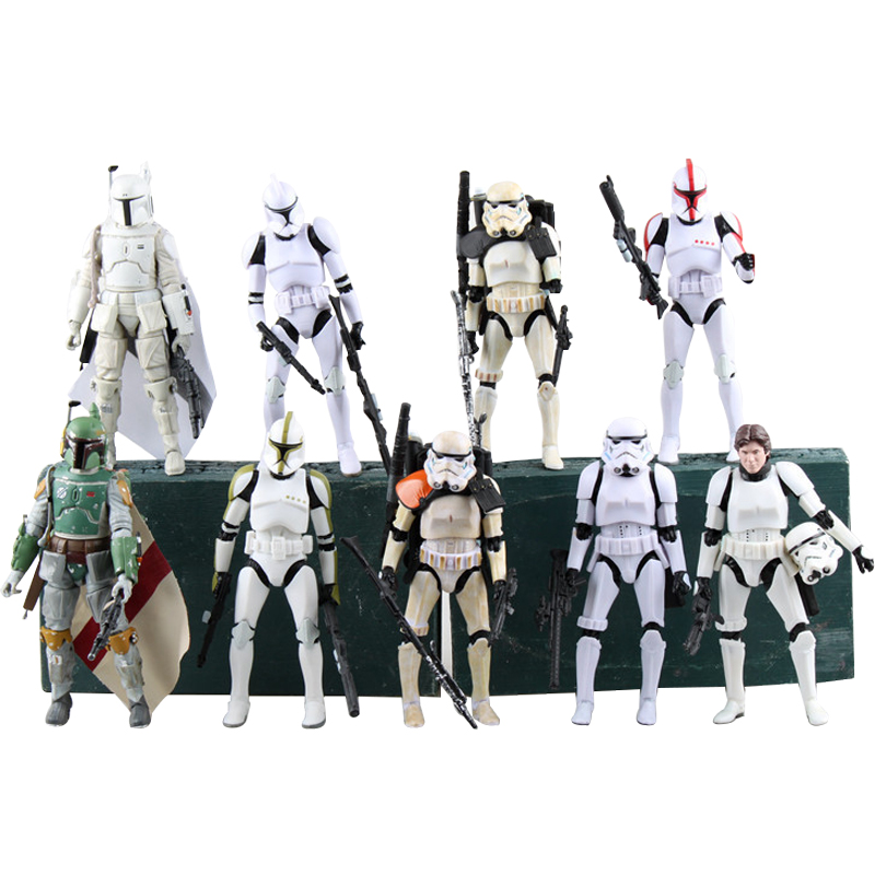 Rogue One 18cm High Quality movable joint Stormtrooper Star Wars Darth Vader PVC Model Action Figure Christmas kids Toys gifts<br><br>Aliexpress