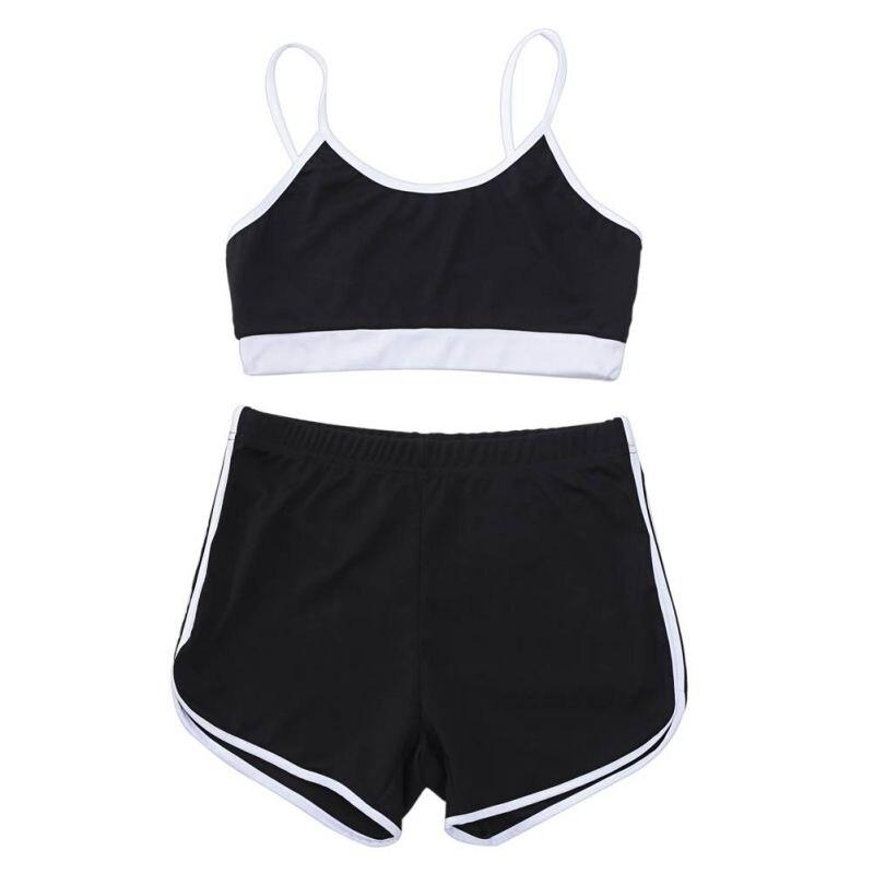Sport Suit Tracksuit Bra+Short Sportswear 9