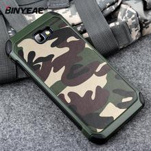 Phone Case For Samsung Galaxy A5 2017 A520 Army Camo Camouflage Pattern Pc Tpu 2 In1 Anti knock Protective Back Cover For A520