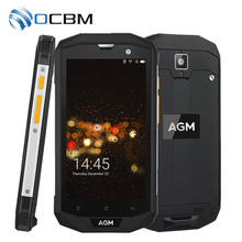 "In Stock AGM A8 IP68 Waterproof Mobile Phone 5.0"" 3GB RAM 32GB ROM Qualcomm MSM8916 Quad Core 13.0MP NFC OTG GPS 4050mAh(China)"