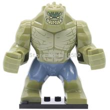 Buy POGO DARKSEID Killer Croc Thanos Green Hulk Big Super Heroes Figure Single Sale DIY Building Blocks Model Sets Toys Children for $2.00 in AliExpress store