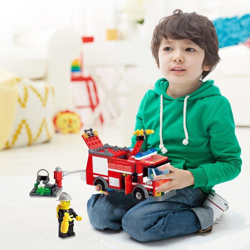KAZI-City-Construction-Series-Building-Blocks-Compatible-Legoe-City-DIY-Fire-Truck-Firefighter-Bricks-Educational-Toys (1)
