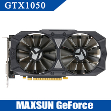 Buy MAXSUN GeForce GTX1050 Optimus Prime 2G Gaming Video Graphics Card 2G/128bit GDDR5 PCI-E 3.0 X16 HDMI+DP+DVI Port Graphics Cards for $192.99 in AliExpress store