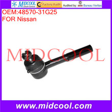 High Quality Auto Parts Steering Tie Rod End OEM:48570-31G25