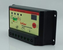The new solar controller 10A automatic conversion 12V/24V solar power controller street lamp type