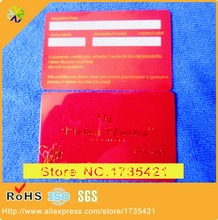 1000pcs/lots 85.5*54mm best material CR80 spot UV business name card printing  PVC name card