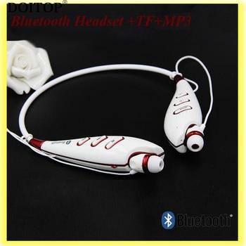 DOITOP Universal Neckband Wireless Bluetooth Sports Running Music Headset Earpiece Stereo Headphone +TF+MP3 Player Earphones