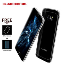 "BLUBOO Edge Mobile Phone 5.5"" HD Double Sided Curvy 4G LTE MTK6737 Quad Core 2GB RAM 16GB ROM 13MP Android 6.0 OTG Fingerprint(China)"