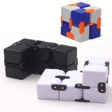 New Cool Color Infinity Cube Fidget Cube Spinner Anti-stress Adults Kids Gift EDC for ADHD Funny Finger Toys
