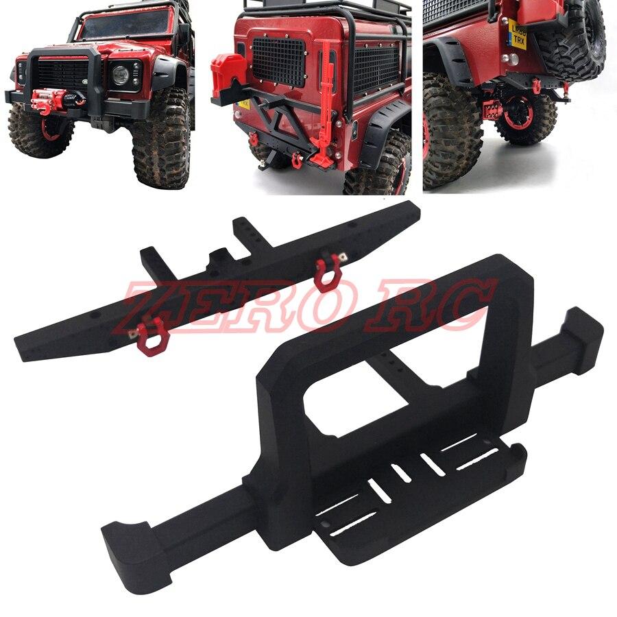 1//10 Rock Crawler Quality Bumper Bull Bar Tow Hook for Axial SCX10 Accessory