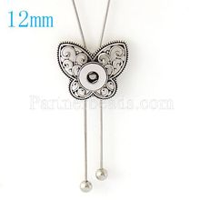 New Body Chain Necklace Snap necklace fit DIY 12MM snap buttons jewlery wholesale women KB0351-S