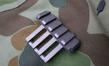 Alloy Metal Multi-angle rail tactical rack for OPS-CORE Helmet