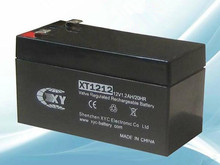 Free shipping 12V 1.2Ah lead acid battery rechargeable battery Security door solar 12 v battery back-up UPS backup power
