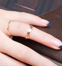 JZ253 Korean jewelry simple and elegant and generous couple on the ring tail ring pinkie ring joints 1pcs