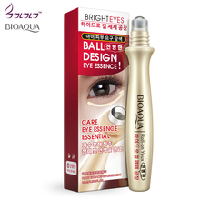bioaqua eyes care ball design eye essence moisturizing firming eye serum ageless beauty eyes massage improvement dark circle new(China)