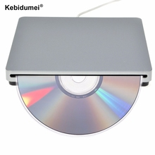 New arrival USB DVD Drives Drive External DVD RW Burner Writer Recorder Slot Load CD ROM Player for Apple Macbook Pro Laptop PC(China)