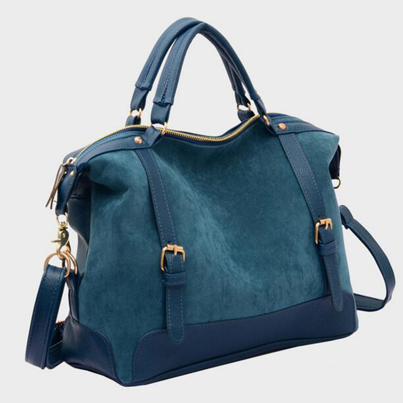 2017 New Brand Women Handbag Luxury Matte leather Large Big Bag Original Black Blue Shoulder Messenger Bags Tote for Women FR090<br><br>Aliexpress