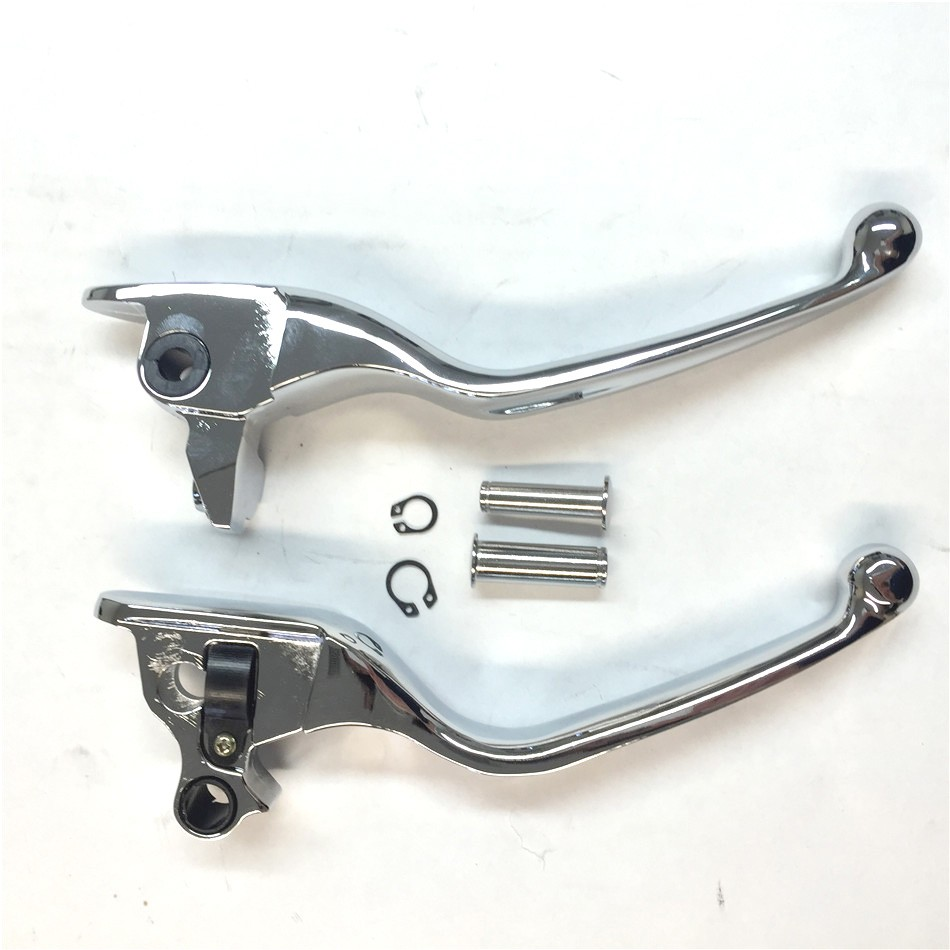 Aftermarket free shipping  Motorcycle Parts Motorcycle Parts CHROM Brake Clutch Hand Lever For Harley 2008-2013 Touring and Trik<br>