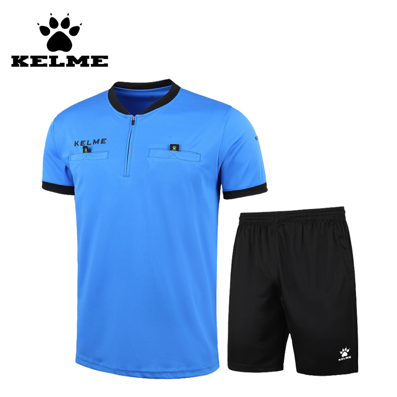 Kelme 2016 College Football Jerseys Sports Referee Soccer Jerseys Short Men Football Camisa Tracksuit Customizable Uniforms 63(China)