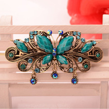 New Fashion Hair Accessories Vintage Butterfly Barrettes Hair Clips Headdress Hairgrip Women Hair Jewelry