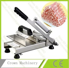 Manual Automatic meat feeding meat slicer for cold meat, ham, fish, cheese, etc(China)