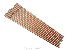 10 pcs/lot of 40cm copper heat pipe, for solar water heater, solar hot water heating, split pressurized solar water heater