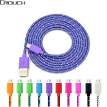 Buy 1M 2M 3M Nylon Braided Micro usb cable Charging Cable Copper Wire Connectors Samsung Huawei Xiaomi Sync MicroUSB Cable for $1.29 in AliExpress store
