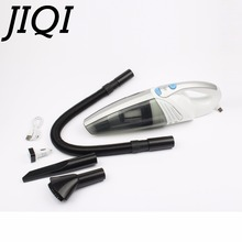 JIQI Cordless Rechargeable vacuum cleaner high power strong suction USB hand vacuum sweeper car home dust catcher Auto aspirator(China)