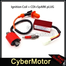 Racing AC CDI Ignition Coil A7TC Spark Plug For XR50 CRF50 Pit Dirt Motor Bike Motorcycle 70cc 90cc 110cc 125cc Engine ATV Quad