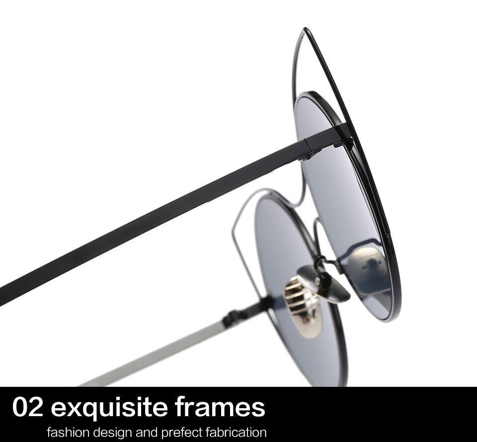 GYsnal 2017 Retro round Sunglasses Women Classic Brand Designer Cat Eye Sunglasses for ladies Metal Frame Sun Glasses Lady UV400